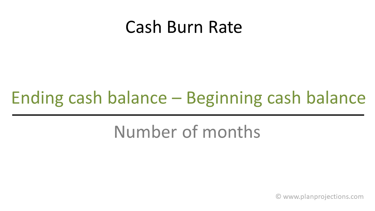cash burn rate for a startup business