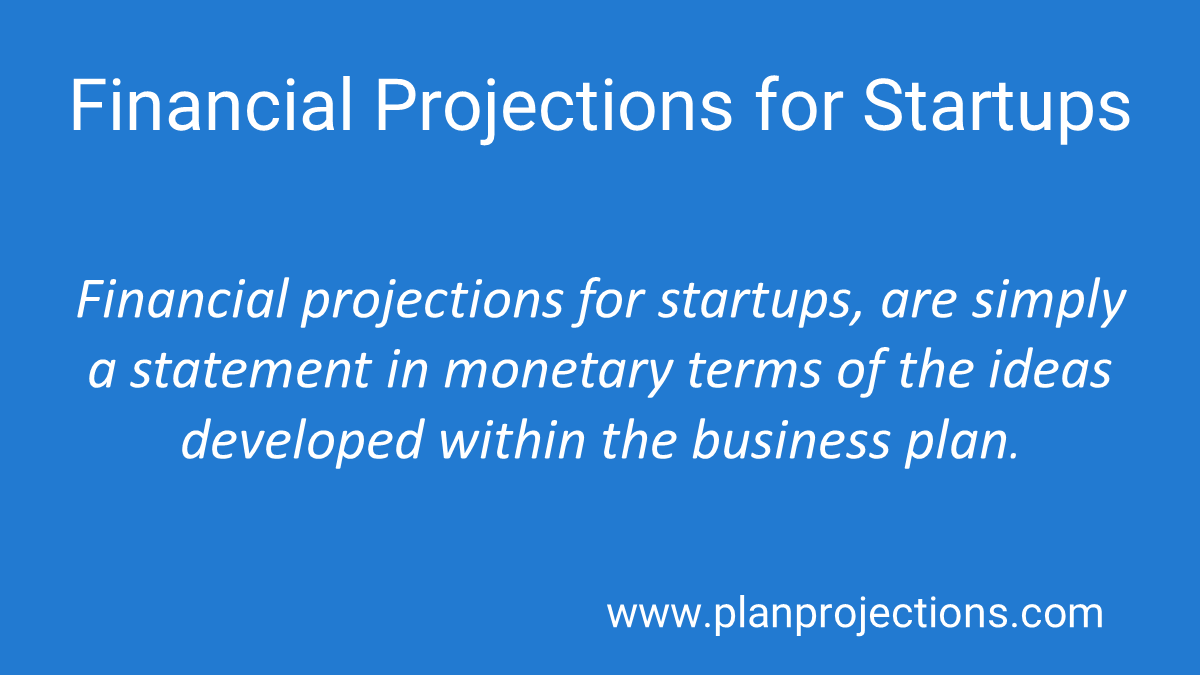 financial projections for startups