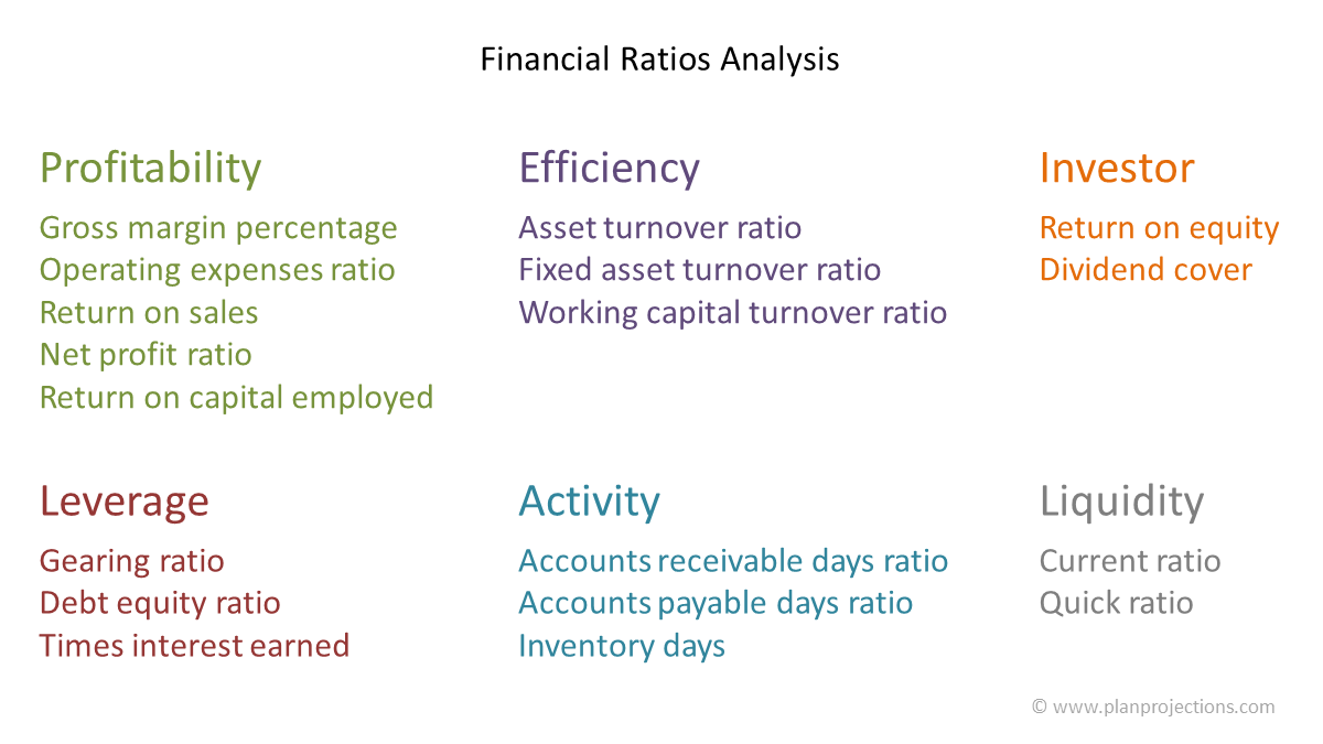 financial ratios analysis