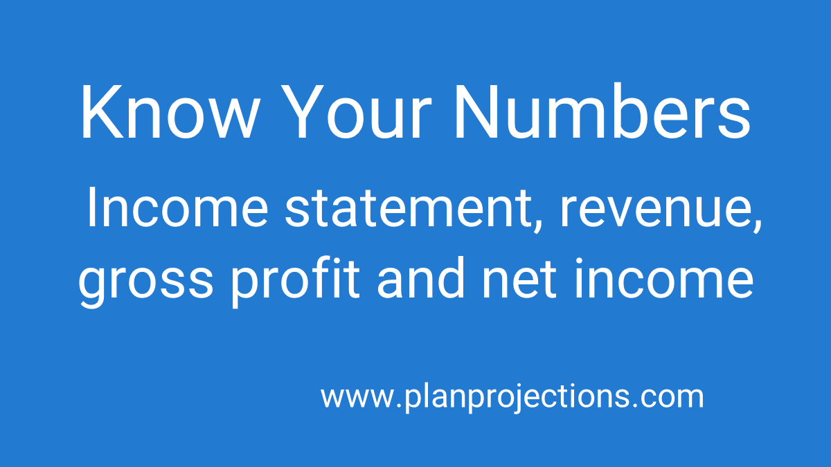know your numbers shark tank pitch income statement