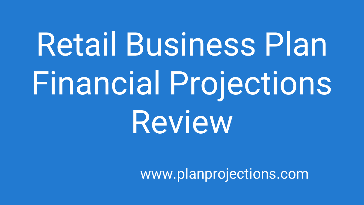 retail business plan review